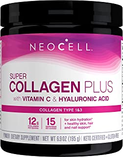 NeoCell Derma Matrix Powder, Collagen Type 1 & 3, Unflavored, 6.46 Ounces (Package May Vary) (Packaging May Vary)