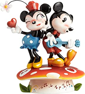 Miss Mindy Presents Disney Mickey and Minnie Mouse Figurine, Multi-Colour