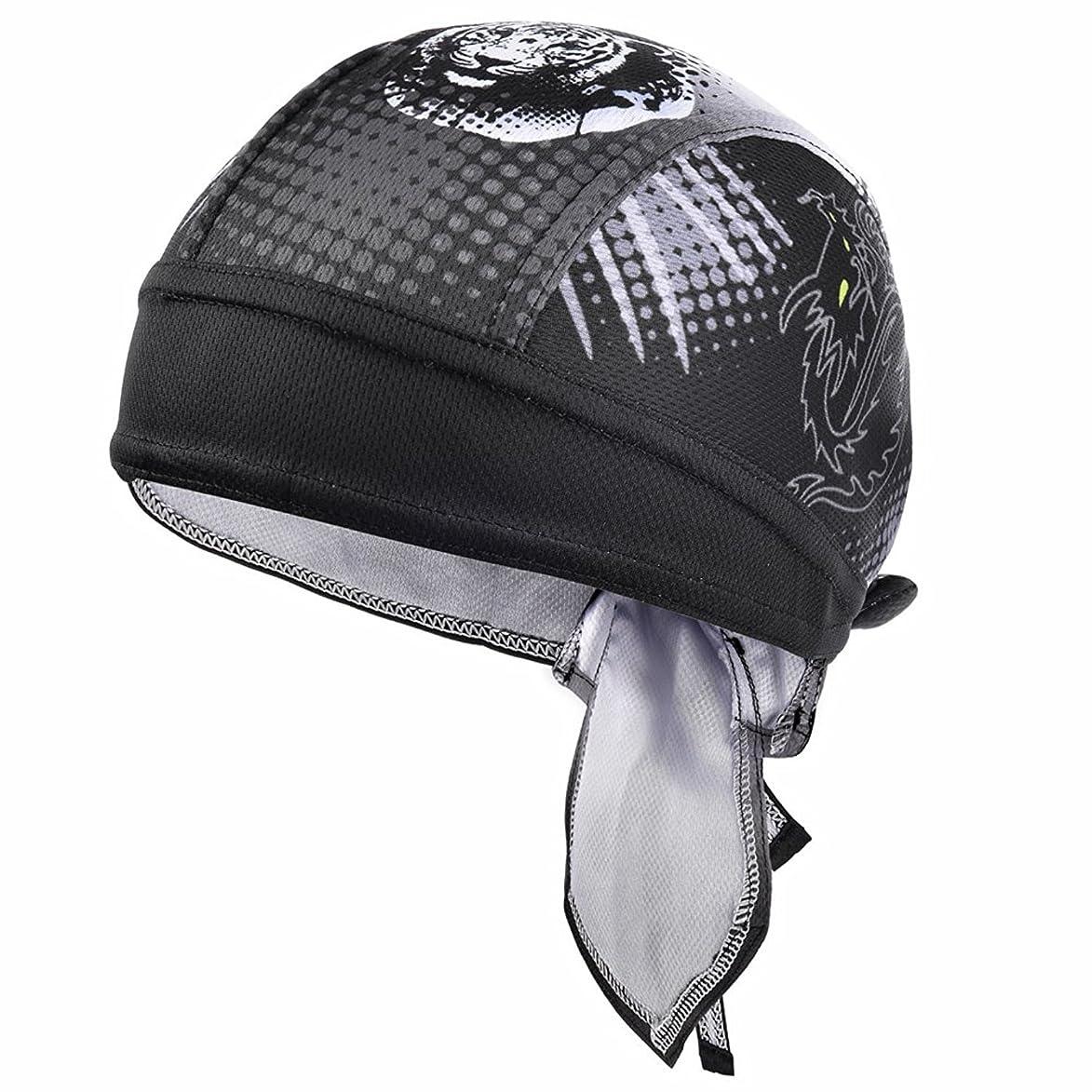 忠誠ヘルメットキャンペーンAbsorptive湿気汗発散Dew Rag Shortyビーニーヘルメットライナー冷却クイックドライ調整可能帽子ヘッドラップスカルキャップメンズレディースアウトドアスポーツサイクリング乗馬スキーMotorcyclingトレッキング
