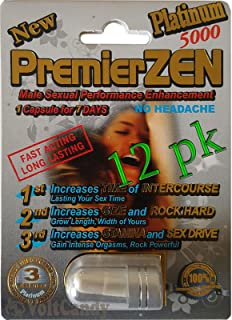 PremierZEN Platinum 5000mg Male Sexual Performance Enhancement %100 AUTHENTIC (12)