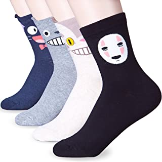 Womens Best Gift Socks Choice - 6-9 Size Crazy Cute Funny Animal Character Design Good for Gift Under $20