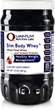 Quantum Slim-Body Whey, 12oz Canister - Delicious, Protein-Rich Smoothie Blend for Lean Body Weight, Immune and Anti-Aging Support - 14g of Protein per Serving!