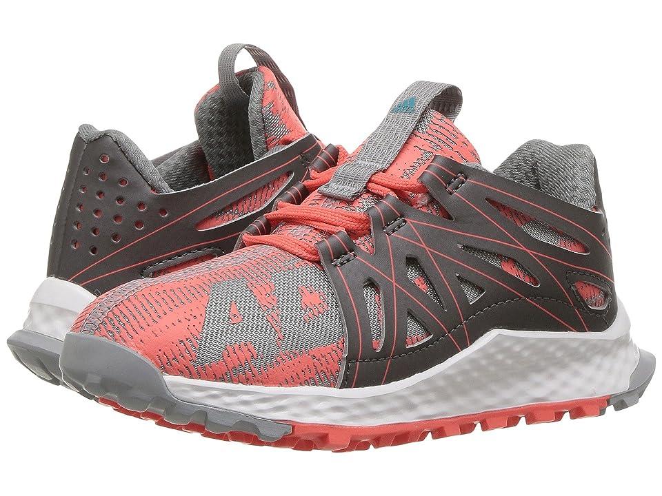 adidas Kids Vigor Bounce (Little Kid) (Ultra Purple/Mid Grey/Easy Coral) Girls Shoes