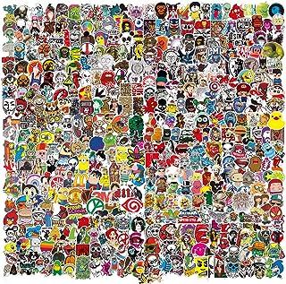 500pcs Sticker Packs for Adults Teens Kids,5 Styles Cute Aesthetic Vinyl Waterproof Cool Bulk Stickers for Laptop Skateboa...