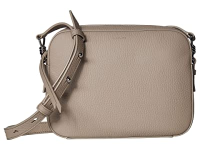 AllSaints Captain Leather SQ Crossbody (Dune) Handbags