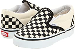 8c0cc182de Black and White Checker White. 1858. Vans Kids. Classic Slip-On Core  (Toddler).  32.00. 5Rated ...