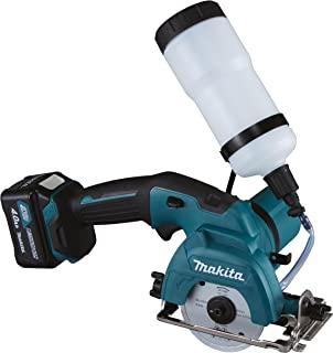 Makita CC301DSMJ Battery Glass Tile Cutter 10.8 V 4.0 Ah 2 Batteries and Charger in Makpac