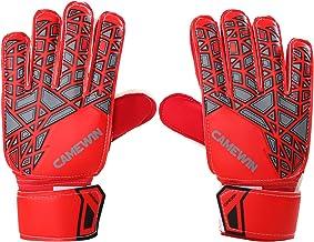 Karltion Goalkeeper Gloves - Soccer Goalie Gloves with Fingersave and Double Wrist Protection, Strong Grip Goalkeeper Glov...