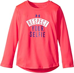 Under Armour Kids - Respect Your Selfie Long Sleeve (Toddler)