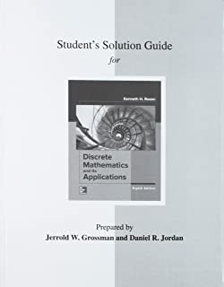Student's Solutions Guide for Discrete Mathematics and Its Applications