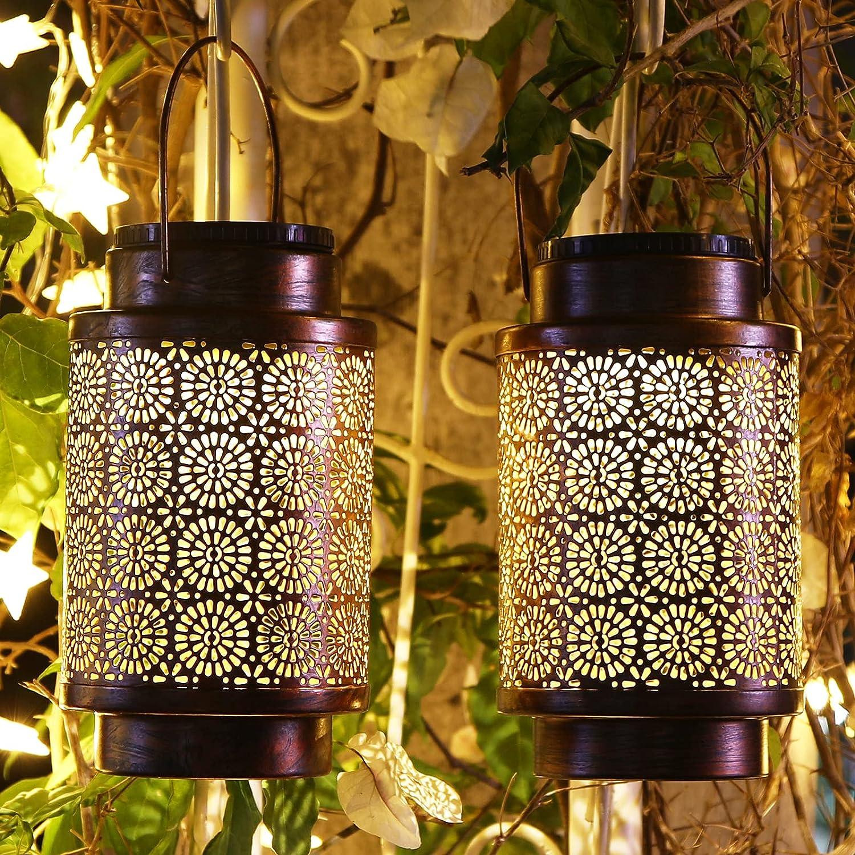 Large Fresno Mall Size Solar Lantern Outdoor Hanging Lanterns Waterproof Sol Award-winning store