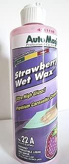 Auto Magic Strawberry Wax, Cream Wax, 16oz