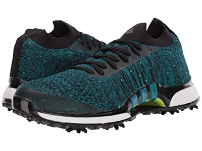 adidas Golf TOUR360 XT Primeknit (Core Black/Active Teal/Solar Slime) Men