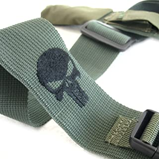 Zahal Israeli Special Forces Sayeret Rifle Sling Vz58/Vz2008 with Punisher Logo (Black)