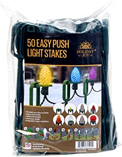 adams manufacturing easy push light stakes