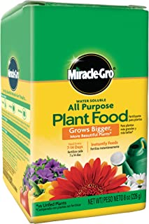 Miracle-Gro 2000992 Water Soluble All Purpose Plant Food, 0.5 LB, Brown/A
