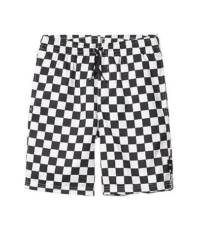 Vans Kids Mixed Volley (Big Kids) (Black/White Checkerboard) Boy