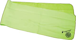 Frogg Toggs Chilly Sport Cooling Neck Wrap & Head Band, HiVis Green