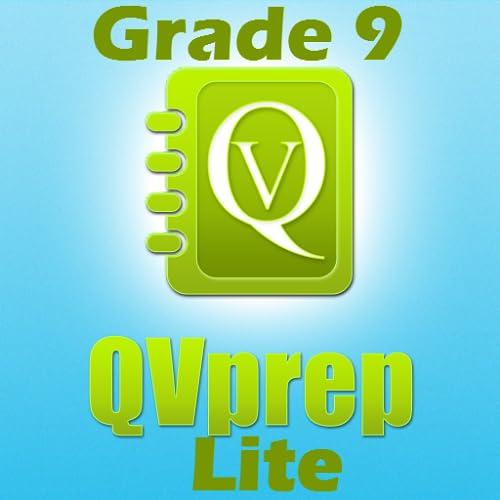 LIVRE QVprep Lite 9 º ano matemática (quantitativo) e Inglês (verbal) a capacidade prática testes de preparação para a 9 ª série nono vocabulário matemática questionário padrão núcleo comum