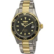 "Invicta Men's 8934 ""Pro-Diver Collection"" Two-Tone Stainless Steel Watch, Silver-Tone/Black"