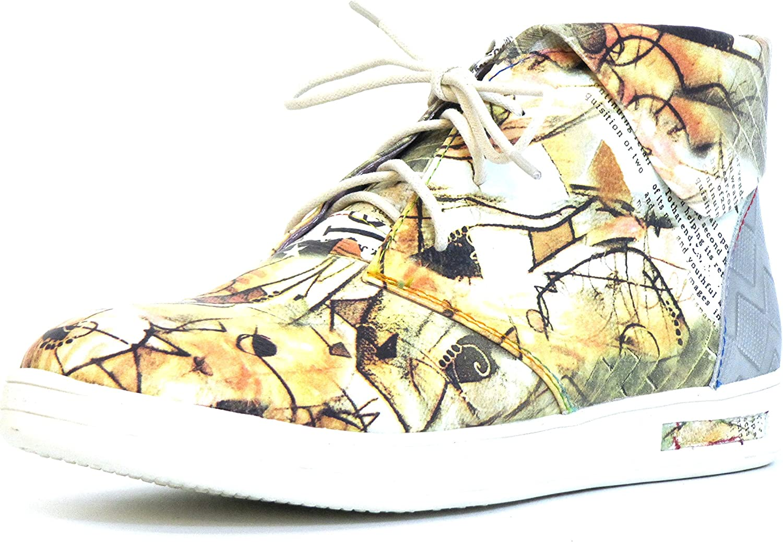 Laura Vita Women Lace-Up shoes Beige, (Beige-Kombi) Bueno 02