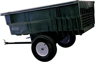 Rubbermaid Commercial Tractor Cart, 1,500-Pound Capacity, Black, FG566361BLA