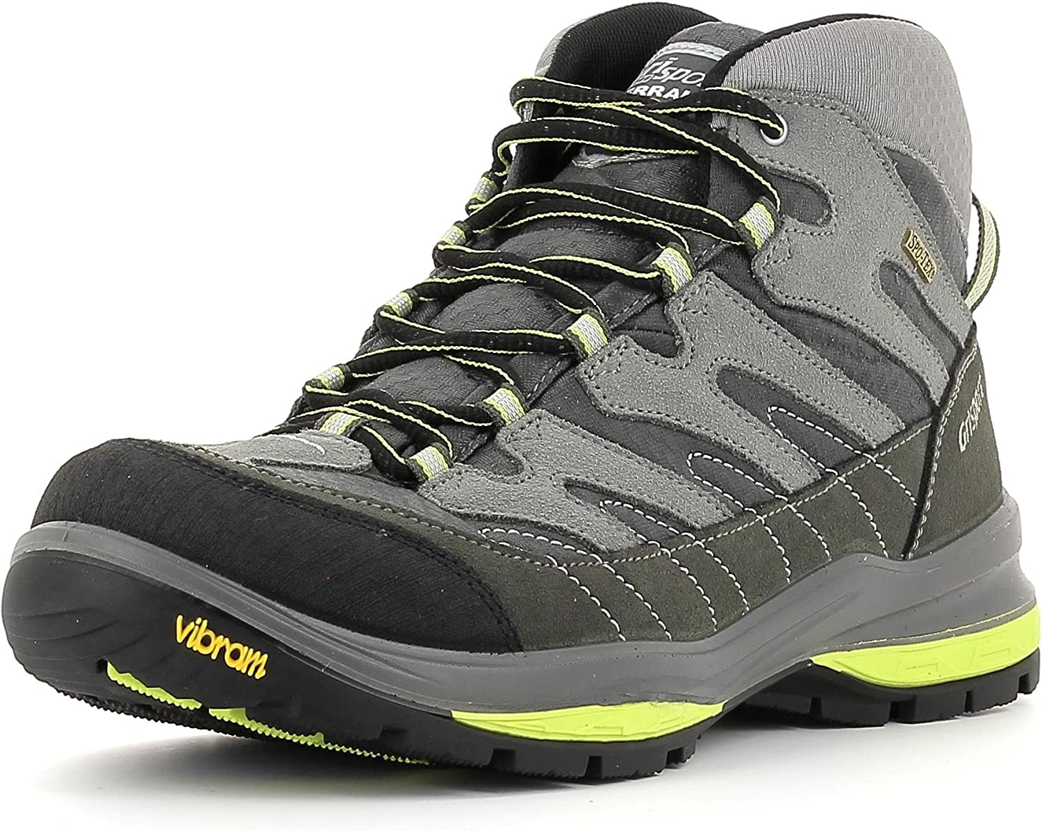 greyport Men's 12505 Terrain Mid Spotex Hiking shoes Grey Size  6 UK