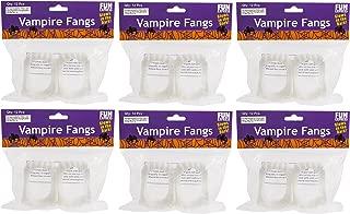Fun Express - Glow-in-the-Dark Vampire Fangs, (1-Pack of 72)