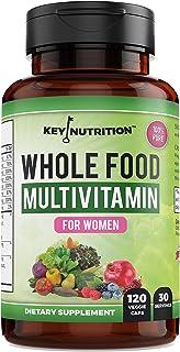 Whole Food Multivitamin for Women, Premium Blend of 24 Essential Vitamins, Minerals, Antioxidants, 100% Pure & Organic