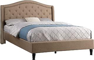 LIFE Home 0013 Platform Bed, Brown