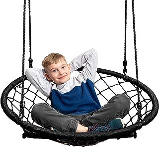 JumpOff Jo Little Jo's Web Chair Swing, Black