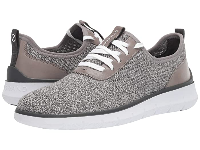 Cole Haan  Generation Zerogrand Sneaker (Grey Knit/YellowithWhite) Mens Shoes