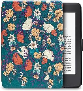WALNEW Amazon Kindle Paperwhiteカバー キンドルペーパーホワイト専用ケース(Kindle Paperwhite (2018年に公開した第10世代)に適応できない)最も薄く、最軽量の保護 レザーケース オートスリープ機能付き