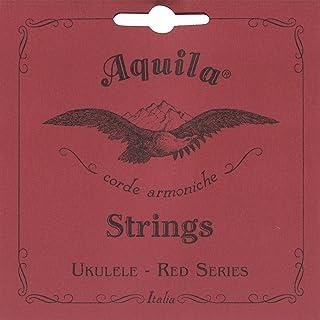 Aquila 86U - Juego de cuerdas para ukelele de concierto en Sol (grave), Do, Mi, La