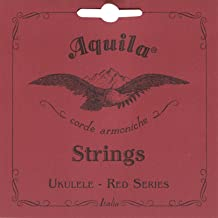 Aquila 72U RED SERIES, Ukulele TENOR Low-G Tuning - G4 (unwound)
