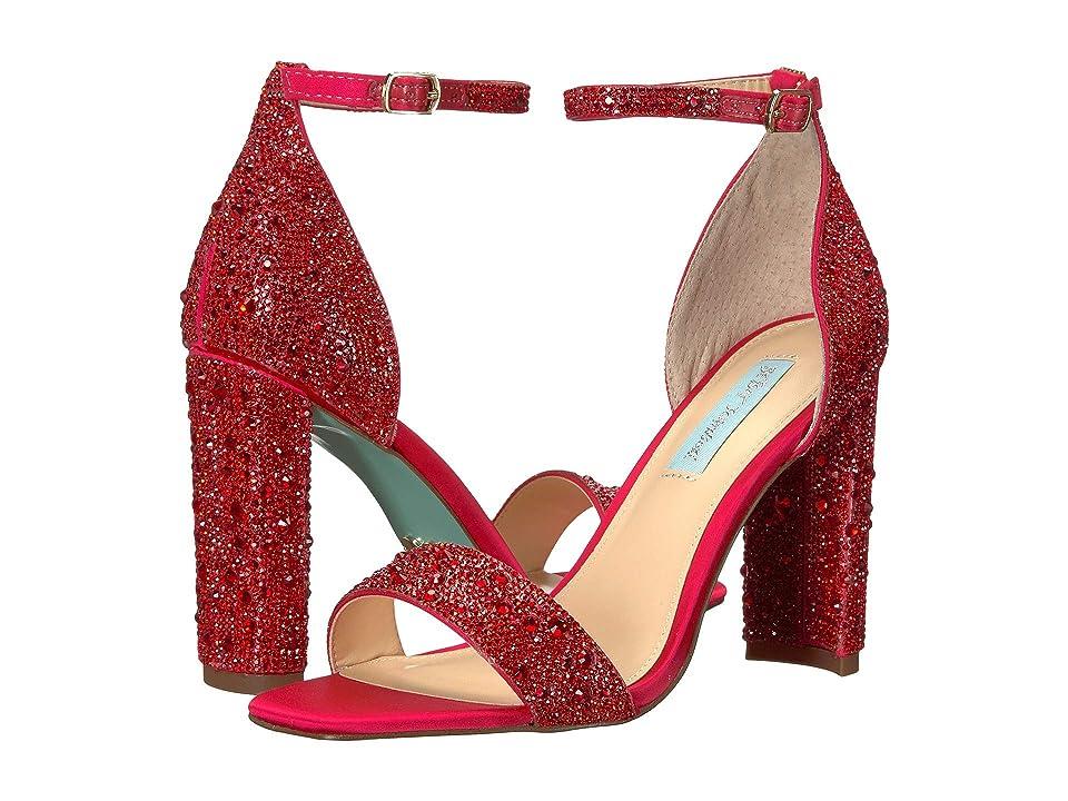 Betsey Johnson Rina (Red) High Heels