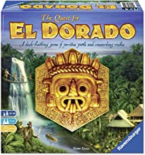 Ravensburger The Quest for El Dorado Adventure Family Game for Ages 10 & Up