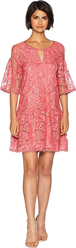 Hibiscus Lace Dress