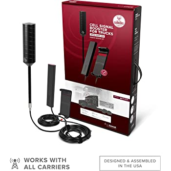 weBoost Drive Sleek OTR (470235) Truck Cell Phone Signal Booster | U.S. Company | All U.S. Carriers - Verizon, AT&T, T-Mobile, Sprint & More | FCC Approved