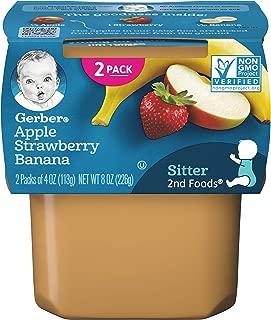 Gerber Foods Apple Strawberry Banana