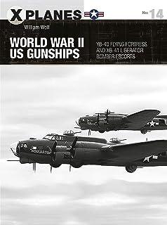 World War II US Gunships: YB-40 Flying Fortress and XB-41 Liberator Bomber Escorts (X-Planes)