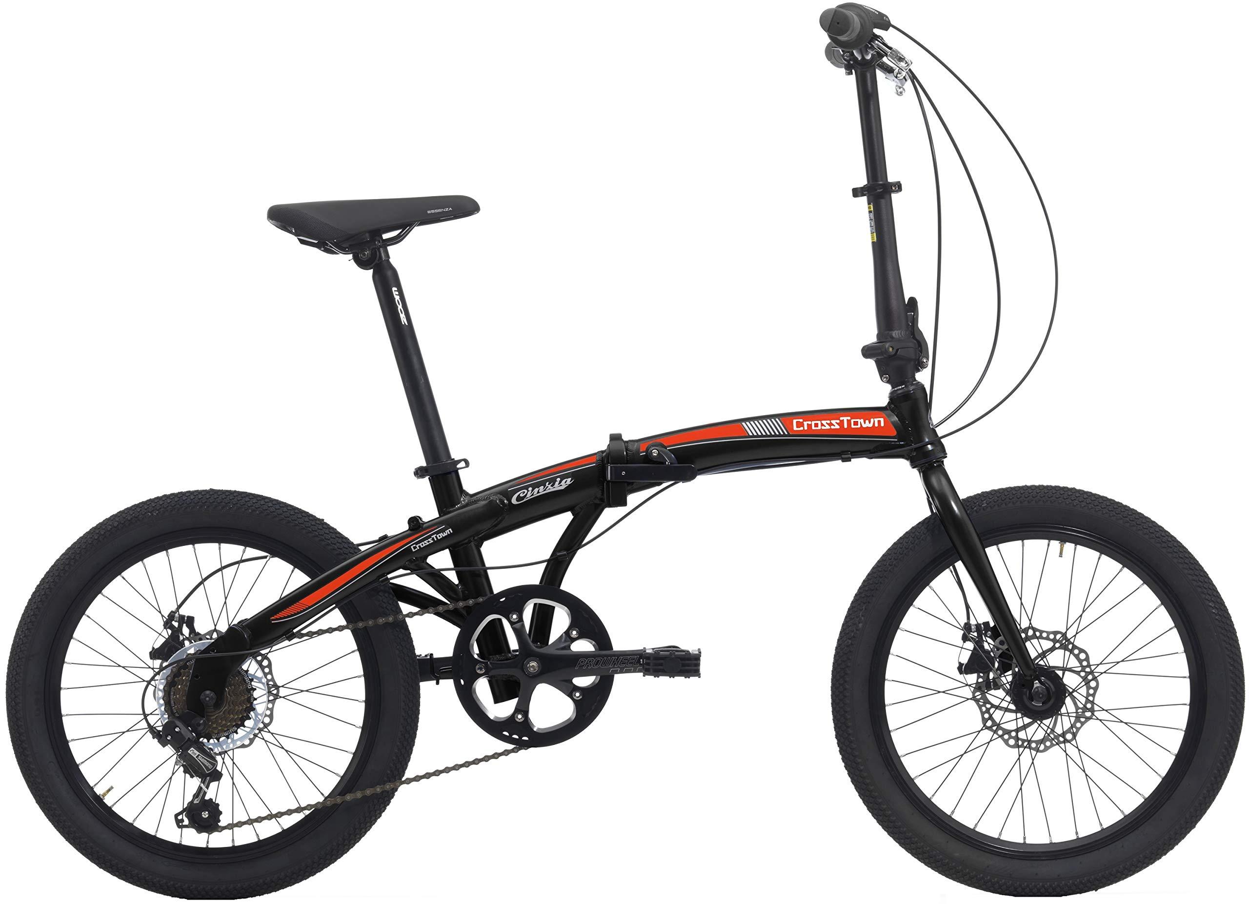 Bicicleta plegable Crosstown, unisex de Cicli Cinzia, Unisex ...