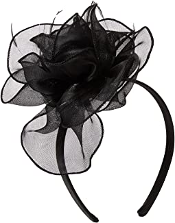 Metallic Organza Fascinator