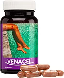 Venacel Complemento Alimenticio para Varices y Piernas Cansadas - 30 Cápsulas