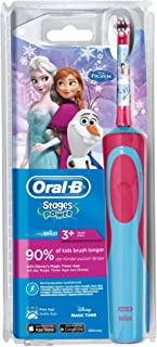 Oral-B Stages Power Kids Cepillo de Dientes Eléctrico con los Personajes de Frozen