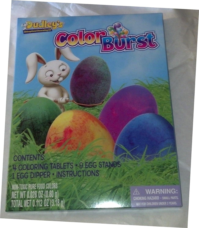 Color Burst Egg Decorating Kit ~ set 2 Same day discount shipping of