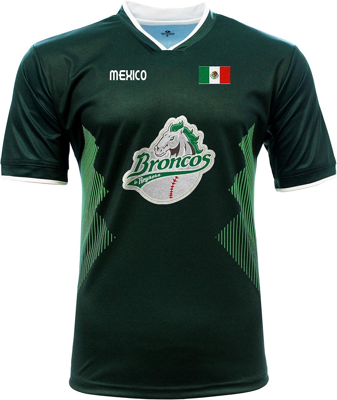 Jersey Mexico Ranking TOP18 Broncos de Elegant 100% Polyester_Made Reynosa in