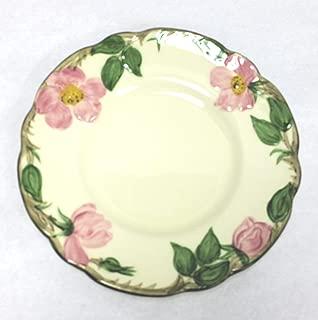 Vintage Franciscan Desert Rose Bread Plate, 6.25 Inch Diameter, 1953 - 1958