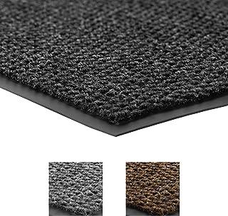 (charcoal, 1.2mx2.4m) - Notrax 136 Polynib Entrance Mat, for Lobbies and Indoor Entranceways, 1.2m Width x 2.4m Length x 0...