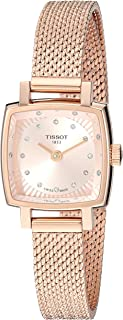 Tissot Lovely Square Diamond Rose Dial Ladies Watch T058.109.33.456.00